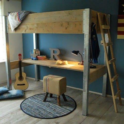 Mommo design loft beds kids room pinterest room bed e loft - Femmine da letto ...