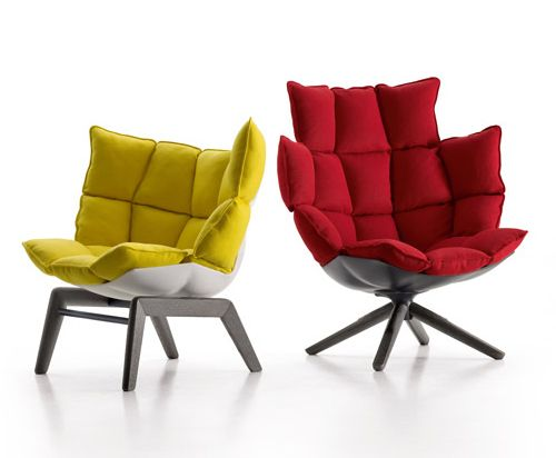 Cool Upholstered Chairs Husk By B B Italia Small Comfy Chair Comfy Chairs Small Comfortable Chairs