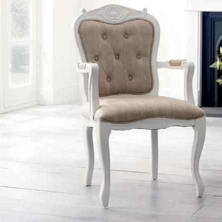Grand Louis Carver Chair Dunelm Carver Chair Seating Upholstered Chairs