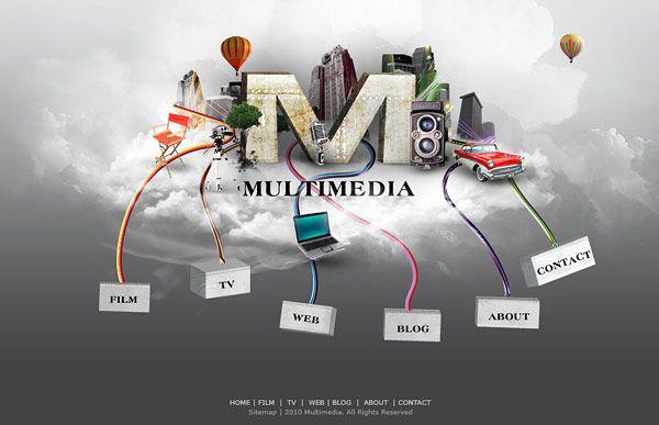 Multimedia Website Layout Tutorial To Design Graphic Web Portfolio Website Layout Design Tutorials Web Layout Design