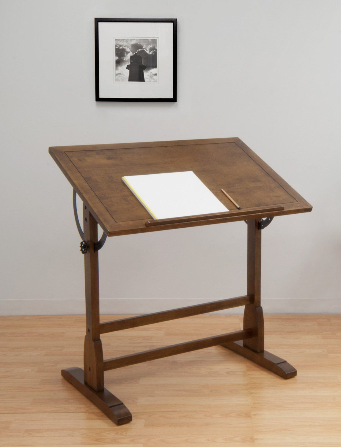 Delicieux Amazon.com: Studio Designs 13304 Vintage Drafting Table, Rustic Oak. The  Classic Design Of The 36 Vintage Drafting Table By Studio Designs Is  Reminiscent Of ...
