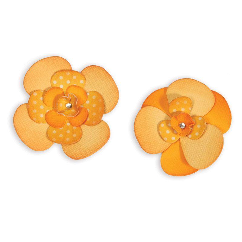 Sizzix Bigz Die - Flower Layers & Centers | Sizzix.com