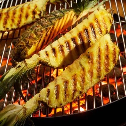 Mmm . . . Grilling Pineapple
