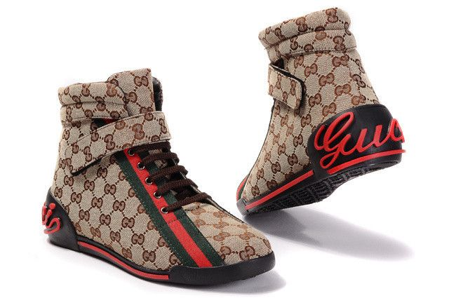 4d6014ccd Gucci high-top shoes men-GG15888   Shopping in 2019   Gucci high top ...