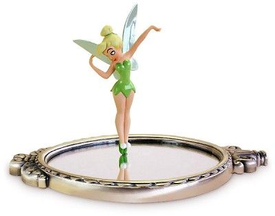 WDCC Disney Classics Peter Pan Tinker Bell With Mirror Pauses To Reflect (animator Choice)