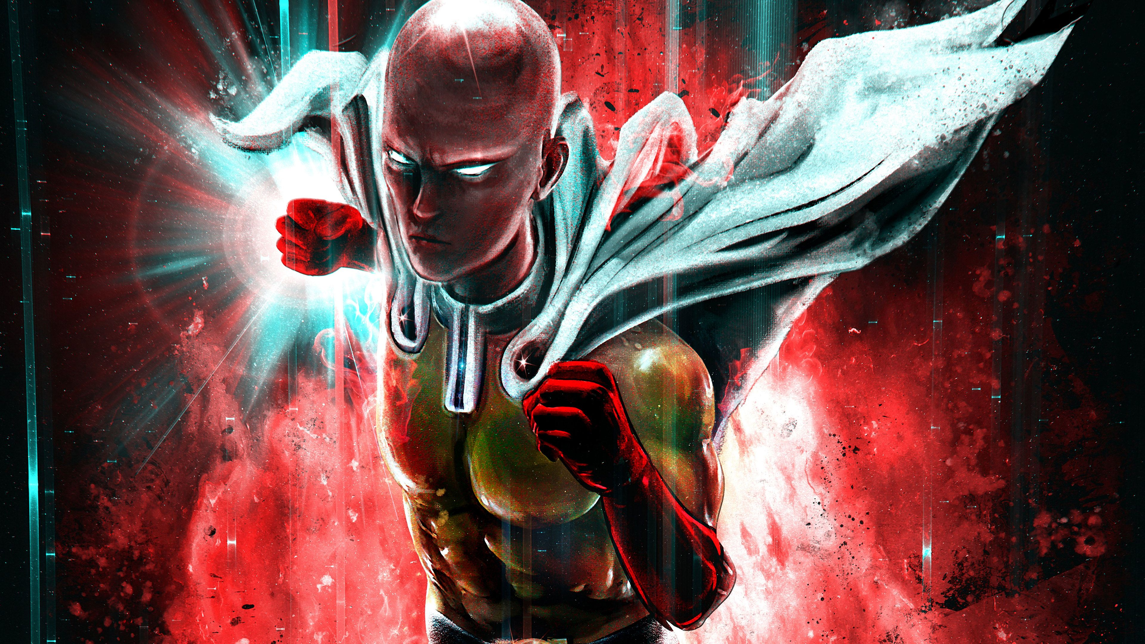 Wallpaper 4k One Punch Man 4k 4k Wallpapers Anime Wallpapers