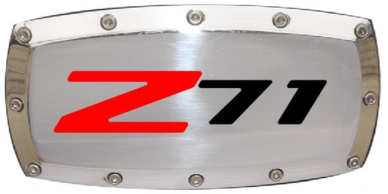 Chevrolet Z71 Outline Hitch Cover - ChevyMall | Chevy Trucks ...