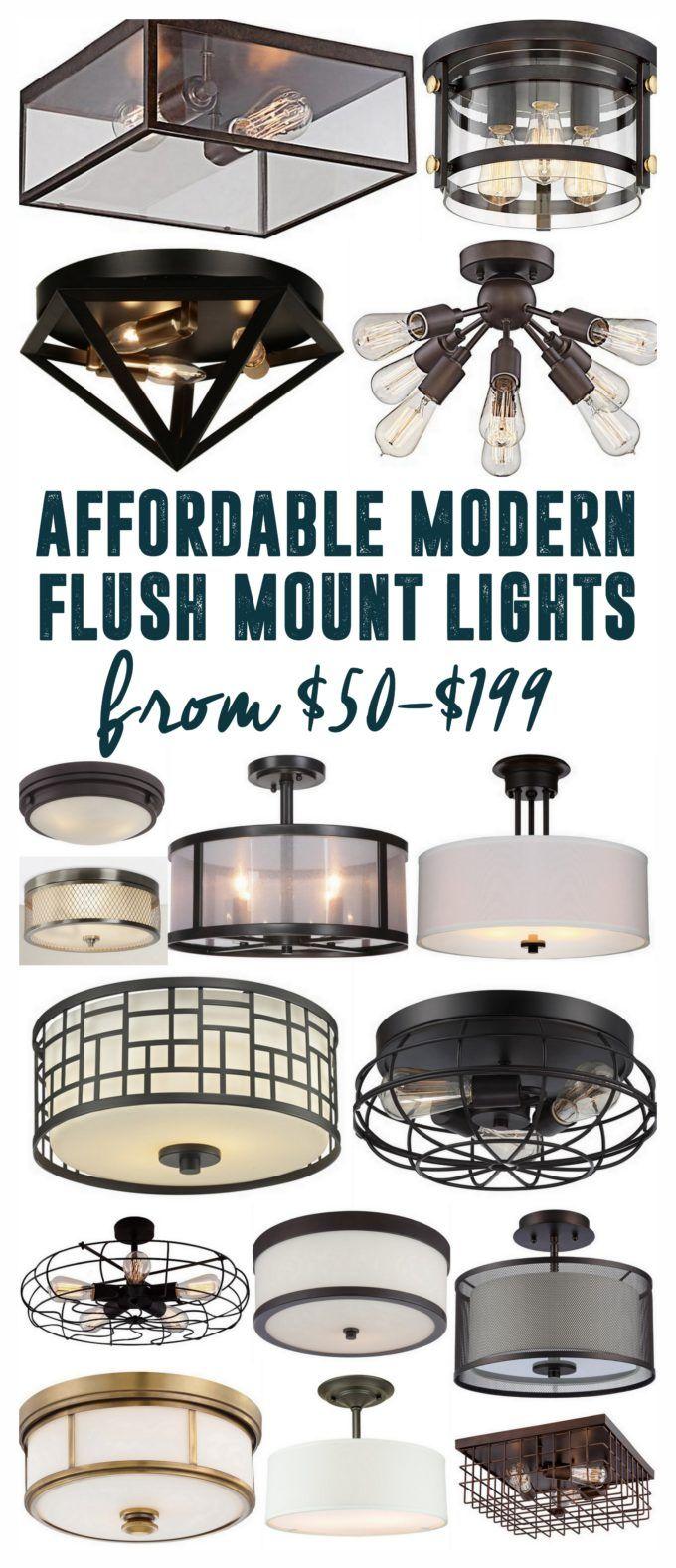 Affordable flush mount lights