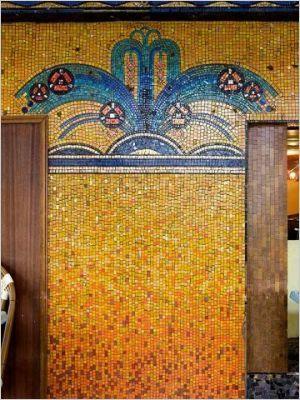 Odorico A La Decouverte De La Mosaique Art Deco Art Deco Mosaique Et Art