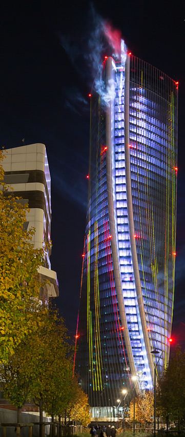 Generali Tower in CityLife (Milan, Italy). Zaha Hadid Architects ...