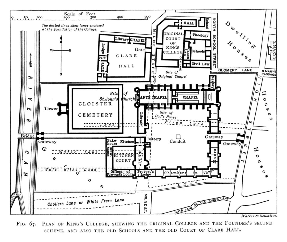 1440 Scheme Of King S College