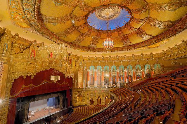Fox Theatre Detroit MI HDR