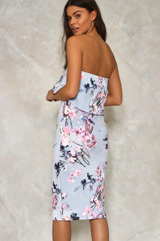 9f0bf34c68 Spring Affair Floral Midi Dress