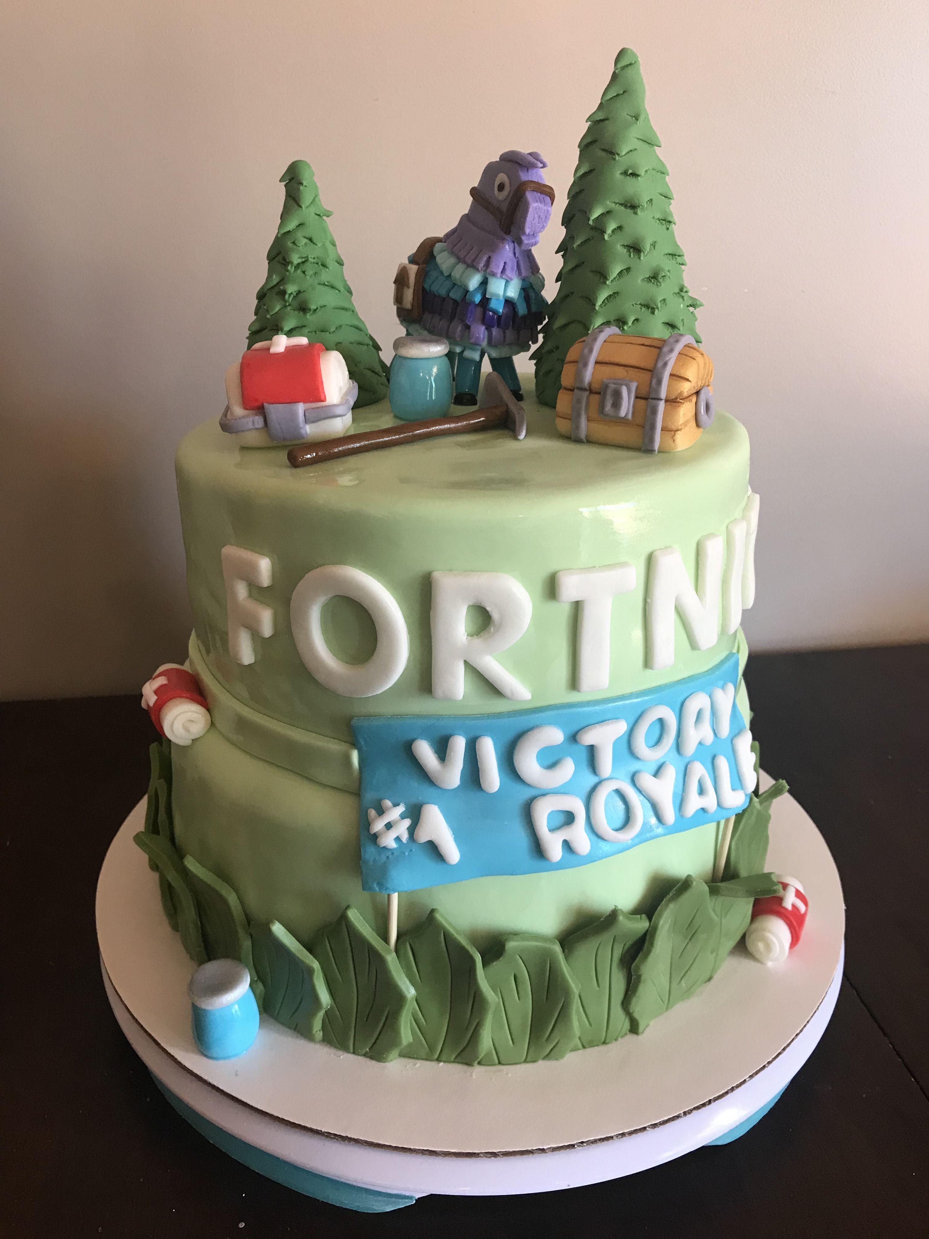 Fortnite Inspired Birthday Cake Perfect For Your Gamerany Age