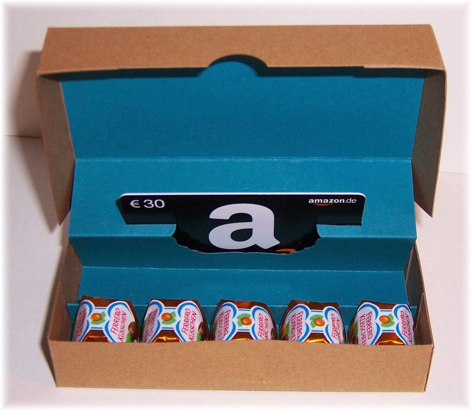 Stempeleinmaleins: Gutscheinbox/Giftcard Box | plottern ...