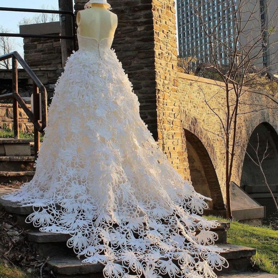 These Toilet Paper Wedding Dresses Give Us All The Feels Toilet Paper Wedding Dress Wedding Dresses Wedding Paper