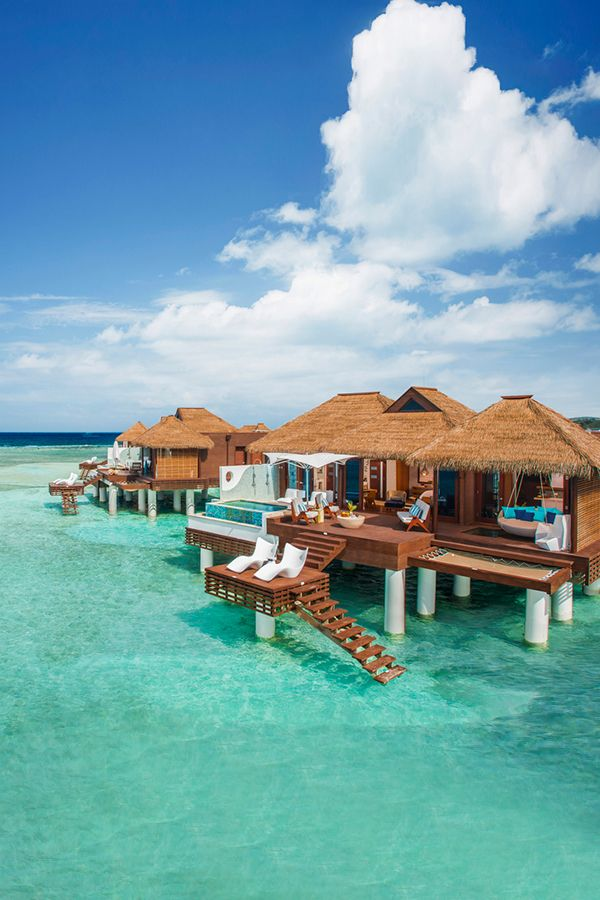 Unique Accommodations Only At Sandals Resorts Can You