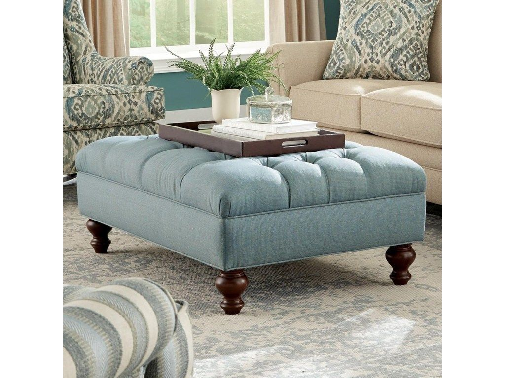 This extra large ottoman will bring traditional style and versatility to any room in your home