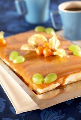 Kinuski-omenarahkakakku | K-ruoka #gluteeniton