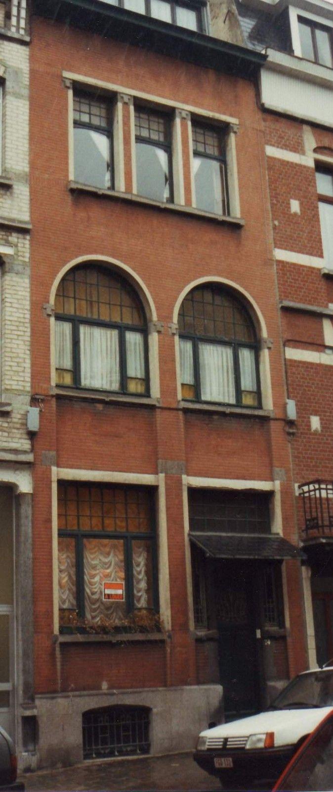 Etterbeek - Rue Général Capiaumont 74 - LOENS Emile
