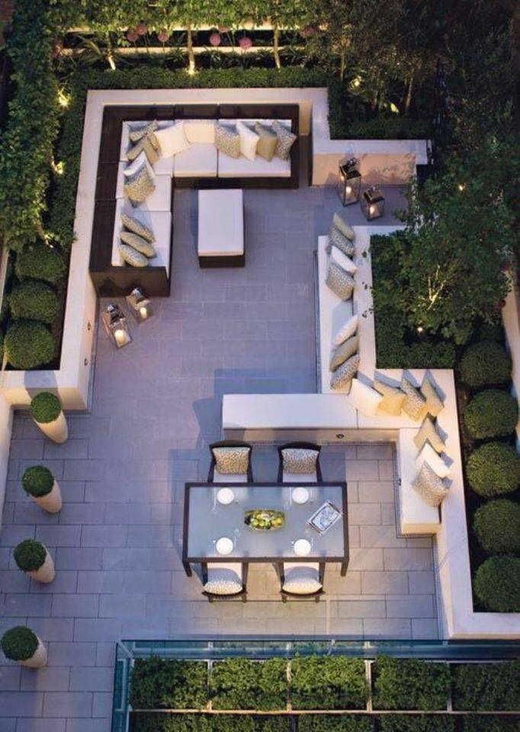29 Awesome Modern Backyard Landscaping Ideas 18 Backyard Landscaping Designs Best Home Design Ideas In 2021 Modern Patio Patio Design Backyard Patio