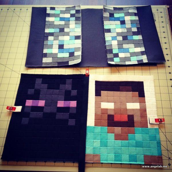 Minecraft Book Cover
