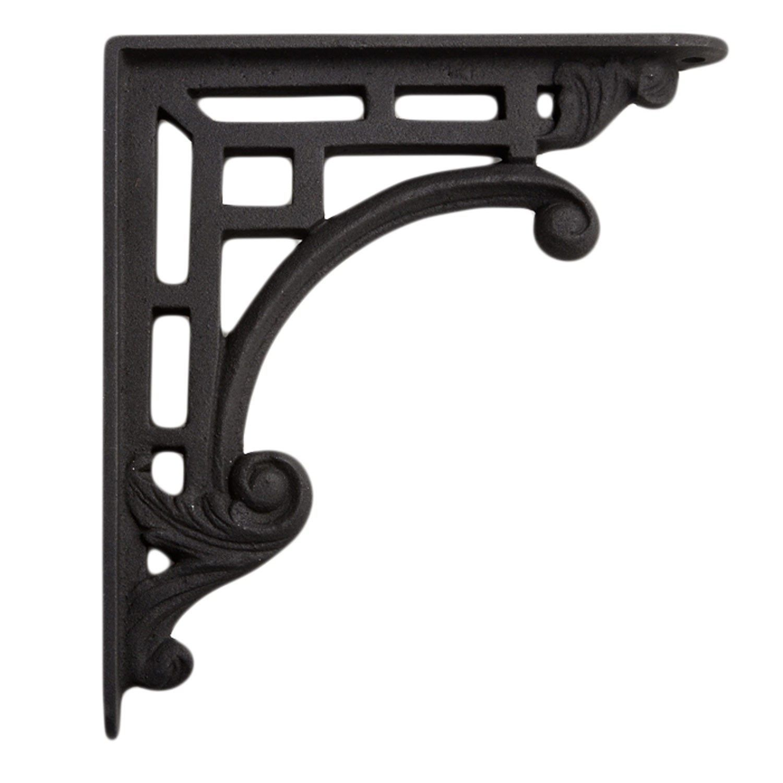Traditional Style Cast Iron Shelf Bracket Cast Iron Shelf Brackets Decorative Shelf Brackets Glass Shelf Brackets