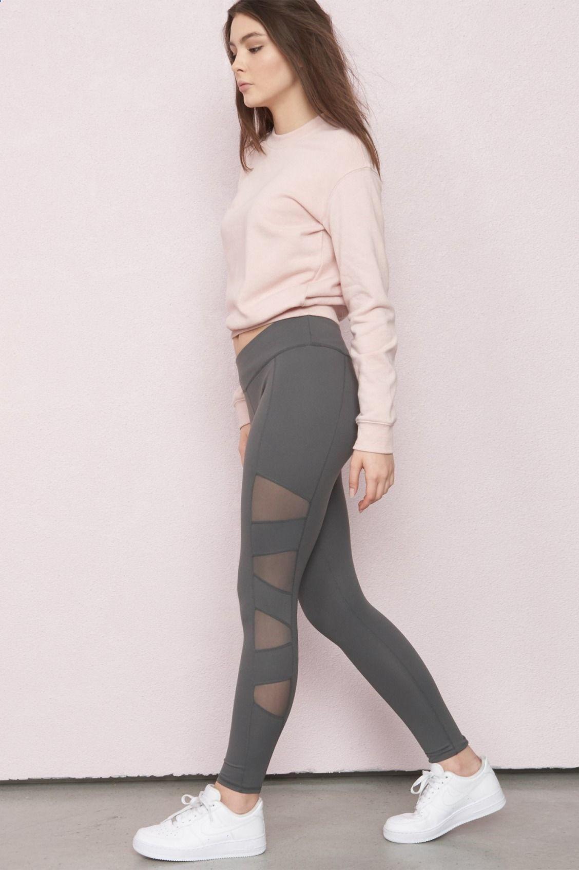 449e76d5082 Side Mesh Legging - Fashion Time