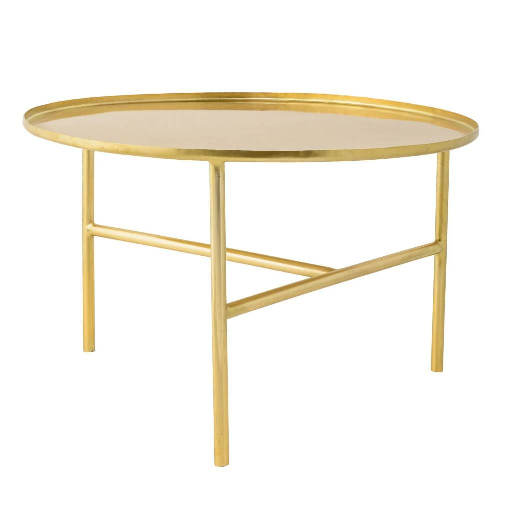 Bloomingville Pretty Coffee Table Brass House Stuff Pinterest  # Table Basse Ronde Hippie