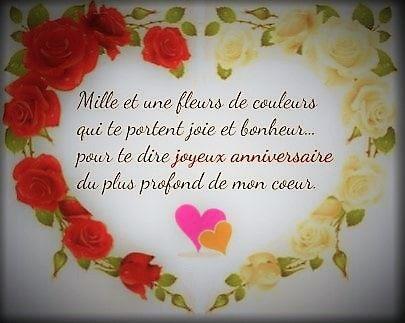Beaux Textes Pour Souhaiter Un Joyeux Anniversaire Love