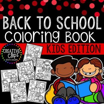 Enjoy this free Back to School Coloring Book! Print all or some of the pages for…