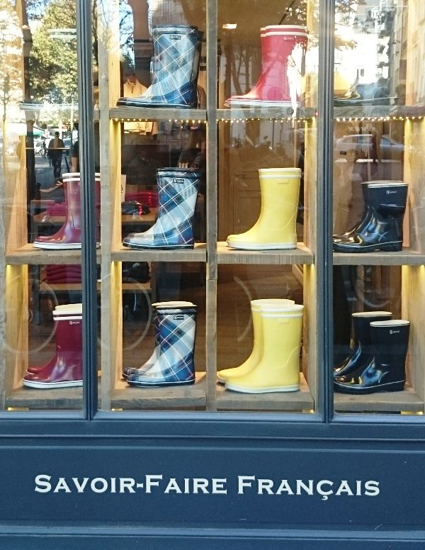 In Blvd France Boots Hand M 139 Rain Germain Aigle 75006 Made St UpqSMGzV