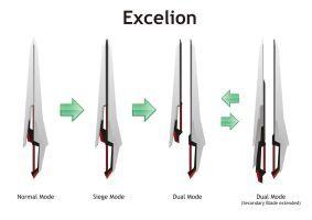 Sword - Excelion by Rxl-Noir