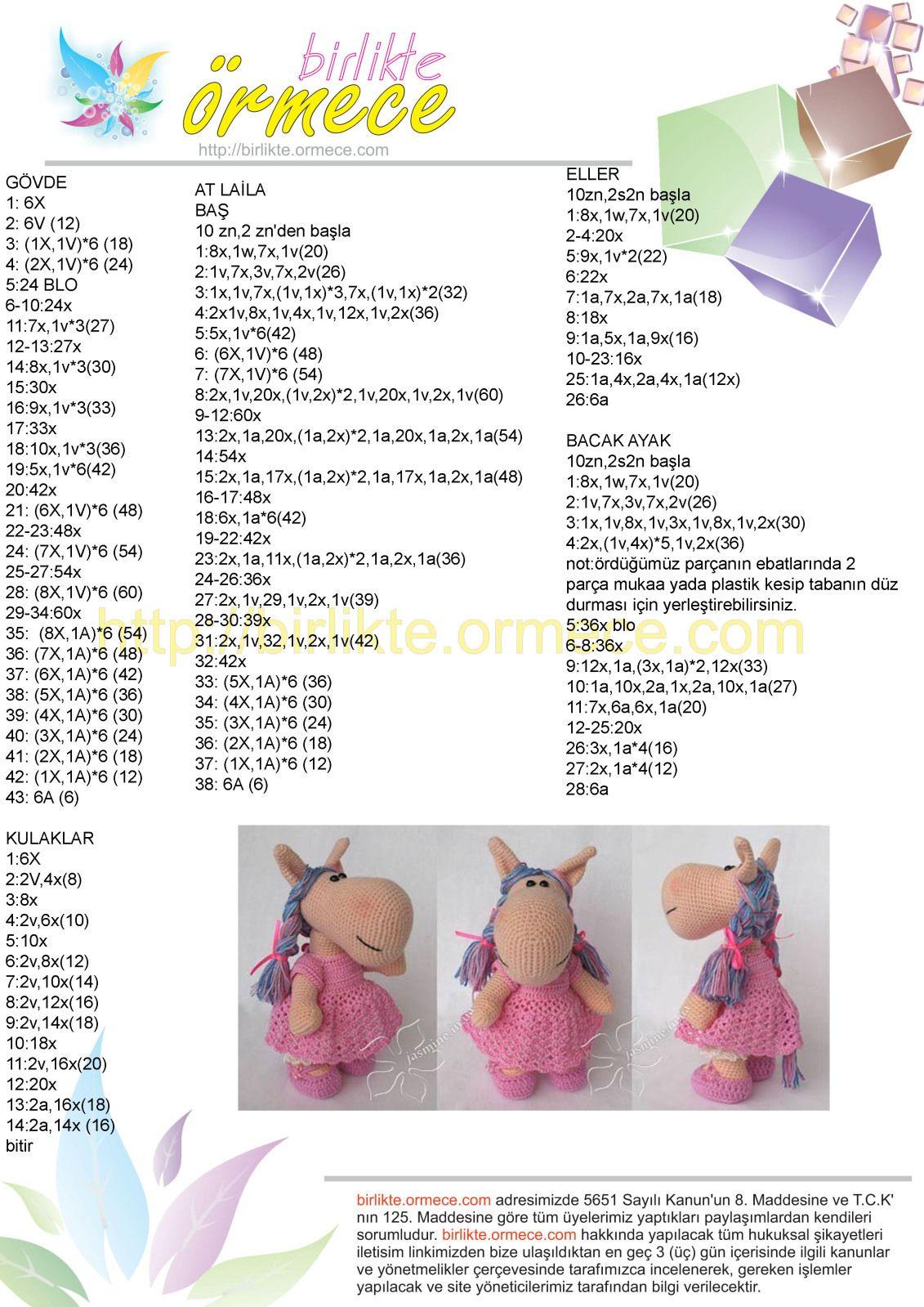 Amigurumi Parmak Kuklası Kalpli Tavşan Yapımı - Örgü Modelleri | 1599x1131