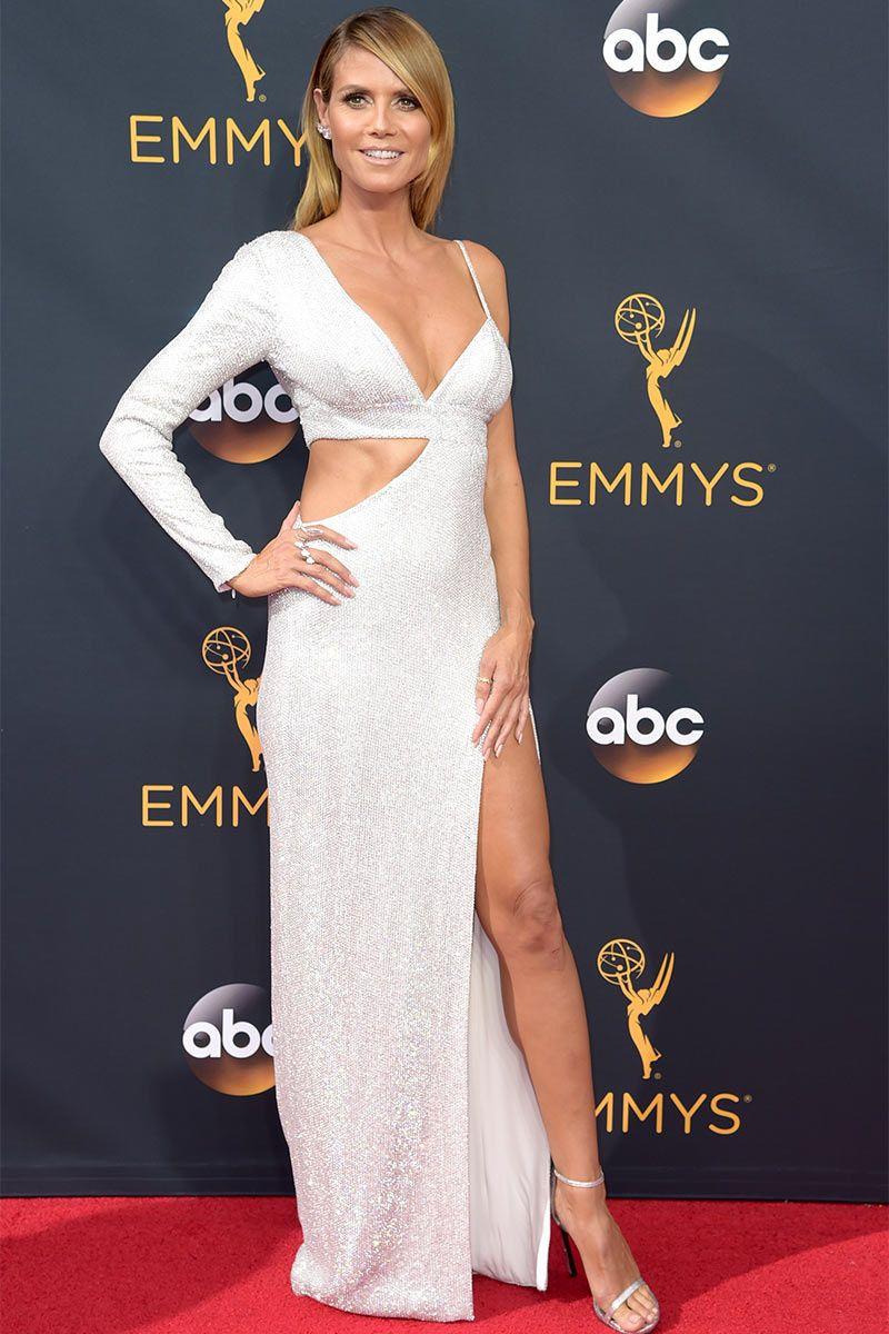 Heidi Klum in Michael Kors - Emmy 2016