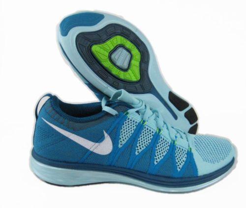 online store a68db 2c7e3 Nike Flyknit Lunar2 Womens Running Shoes 6.5 Glacier Ice Turquoise 620658  400  Nike  RunningCrossTraining