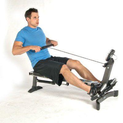 Stamina Avari Easy Glide Rower Review Fitness Magazine Cardio Burn Calories