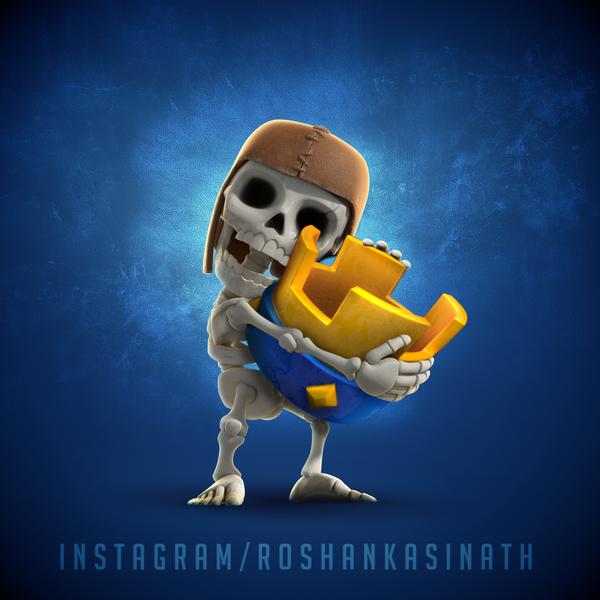 Clash of Clans / Clash Royale Fusion. by roshankasinath on DeviantArt