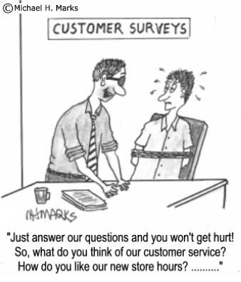 Just Answer Our Questions, And You Won'T Get Hurt! #Survey #Mrx