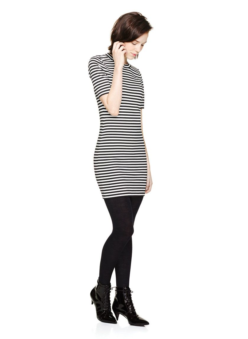 SUNDAY BEST MILLER DRESS - A striped dress that gets it right every time, all the time $54