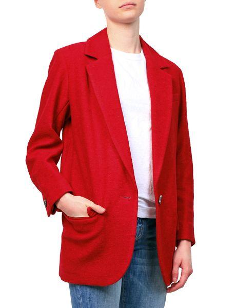 Etoile Isabel Marant Dean Jacket Red from MRS H   HANDPICKED DESIGNER FASHION, SKIN CARE & PERFUME