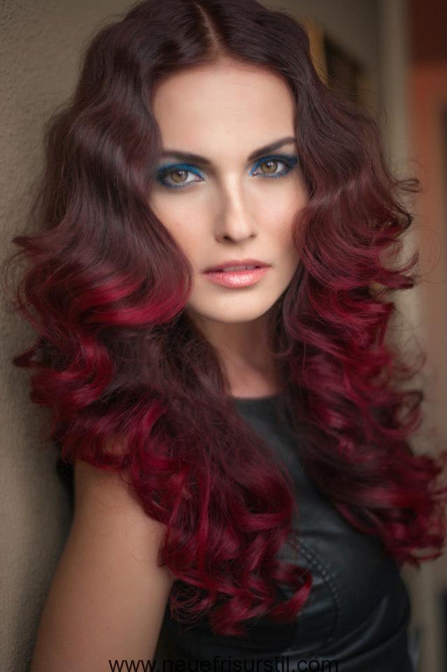 Haarfarbe braun rot bilder