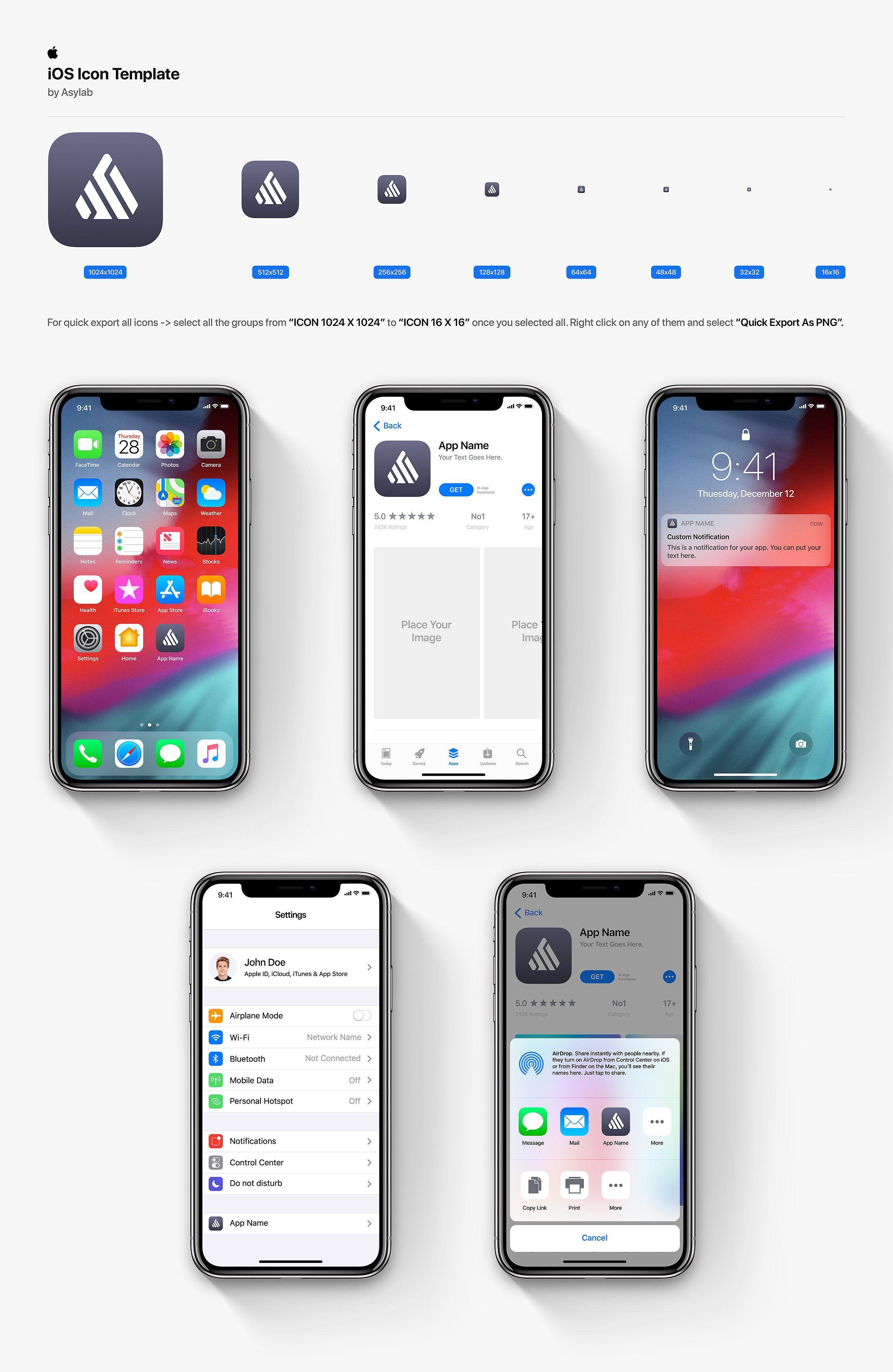Desktop Os Mobiie Icon Template Ios Icon Ios App Icon Design Themes For Mobile