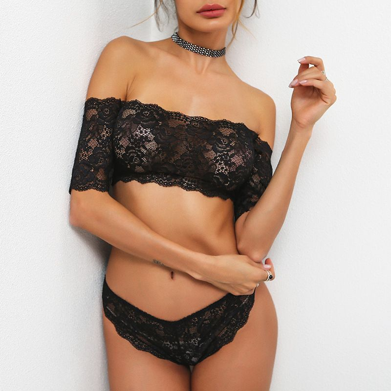 ce77bfcbf9 Fs0259a 2018 Latest Design Sexy Women Lace Lingeries Bra Brief Sets ...