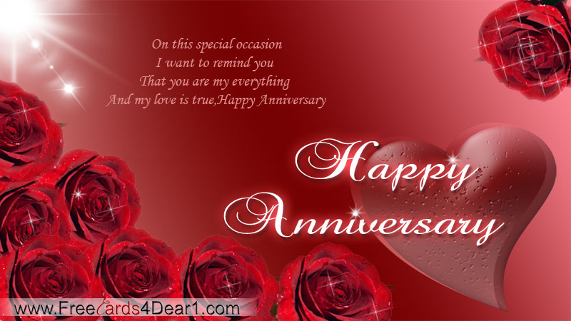 Anniversary Ecards For Wife/Husband « Free ecards, Video E