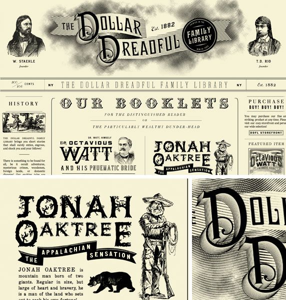 The Vintage Trend Treefrog Interactive Victorian Web Design Victorian Lettering Victorian Fonts