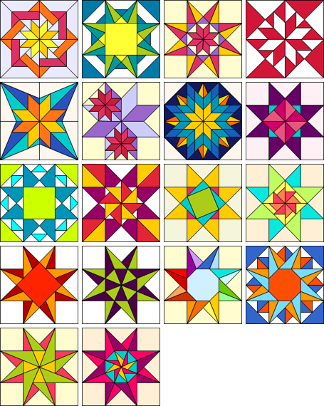 Exotic Stars | Products | The Electric Quilt Company | лоскутное ... : electric quilt company - Adamdwight.com