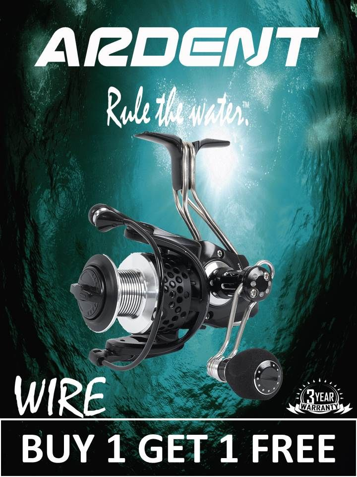 Ardent Reels on   Flies,lures,and more   Spinning reels