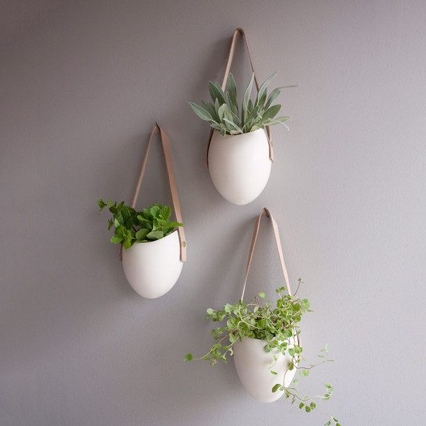 Porcelain Planters Set Of 3 by Farrah Sit | Fab.com
