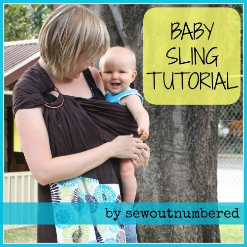 Sewing for Baby: Baby Sling Tutorial